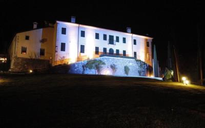 facciata notturna