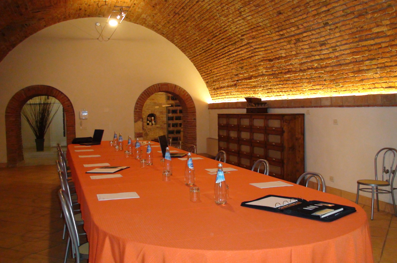 cantina allestimento meeting