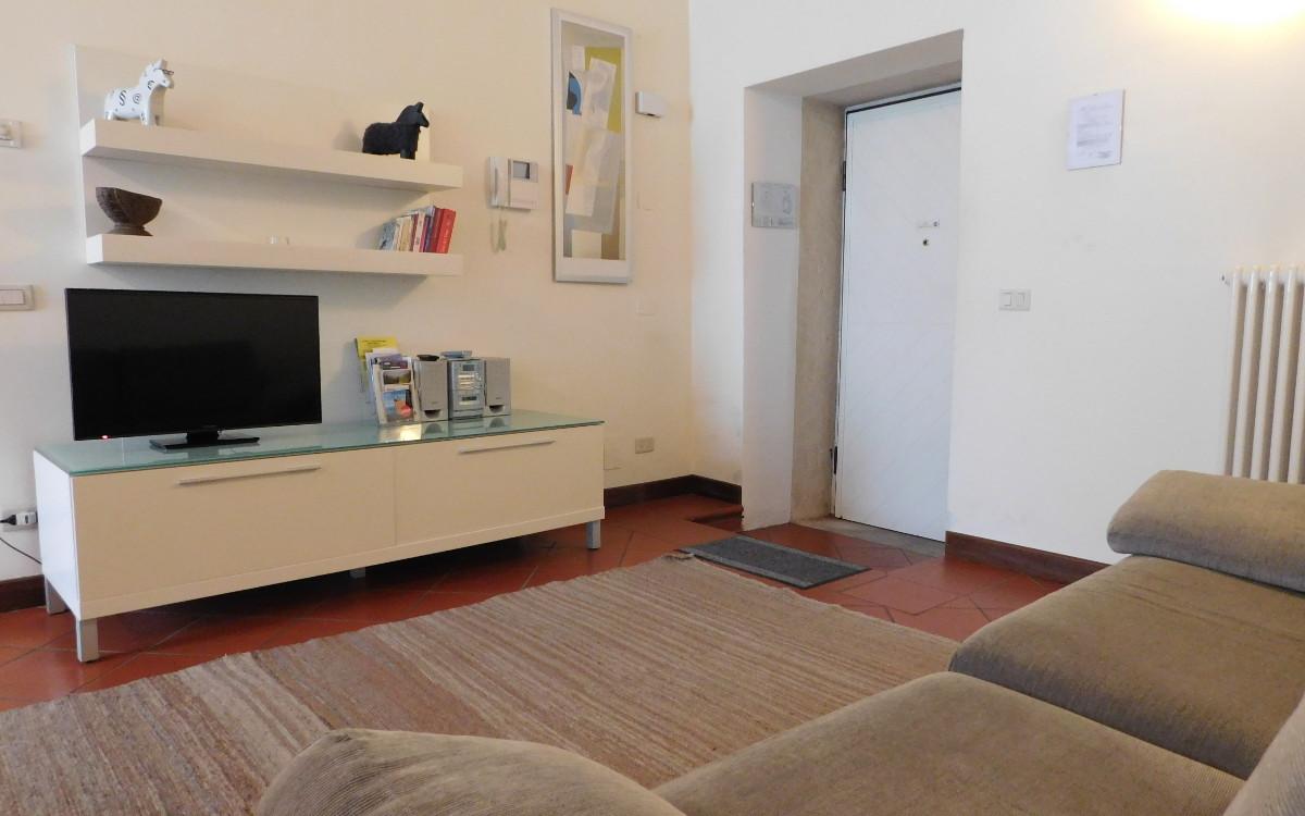 salotto  appartamento arredato per famiglie  Palladio