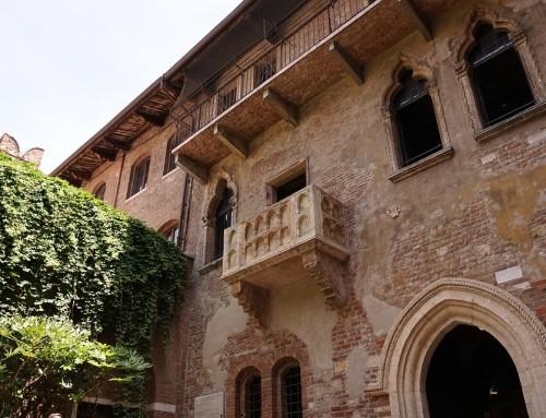 A casa de Julieta em Verona