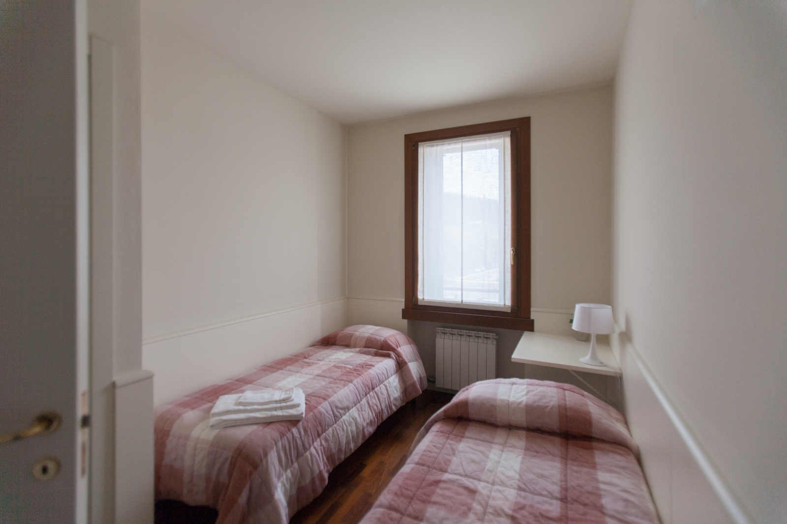 twin room in apartment in Soave
