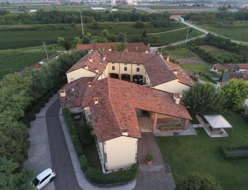 Residence aerial view