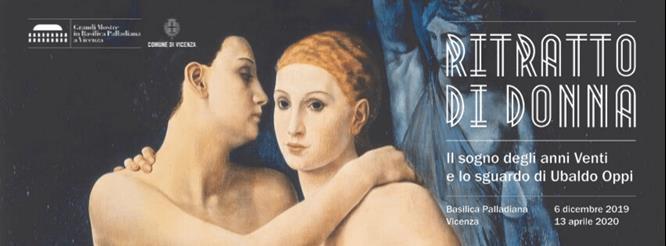 Ubaldo Oppi, Le amiche, 1924. Collezione privata
