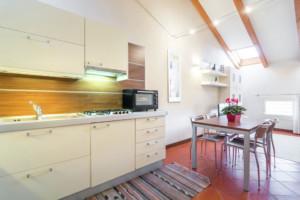 cucina appartamento Raffaello