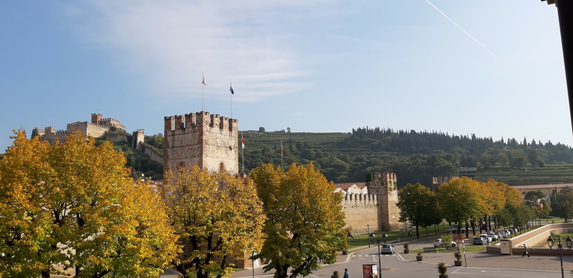 castle view soave