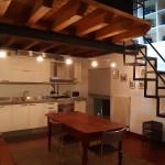 cucina appartamento arredato Michelangelo