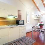 cucina e soggiorno Raffaello