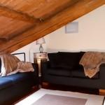 living room appartamento arredato Michelangelo