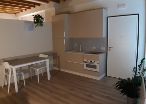 newly built studio Loft L1 kitchen