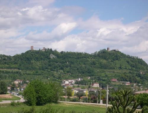 Montecchio maggiore and Romeo & Juliet castles